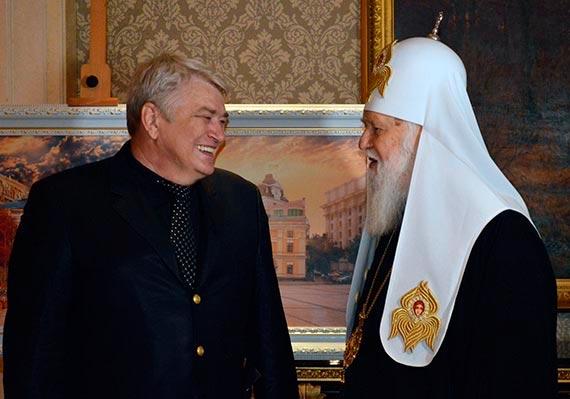Free Speech. Свобода Слова. Сергеq Мельникофф и Патриарх Филарет. Фото Ирины Нагорной