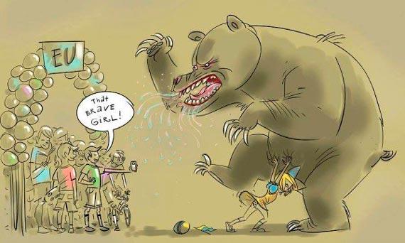 Есть договоренность о выводе российских войск и техники из Украины, - МИД Германии - Цензор.НЕТ 4289