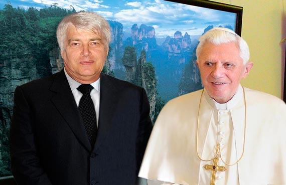 Сергей Мельникофф, aka MFF и Папа Бенедикт XVI