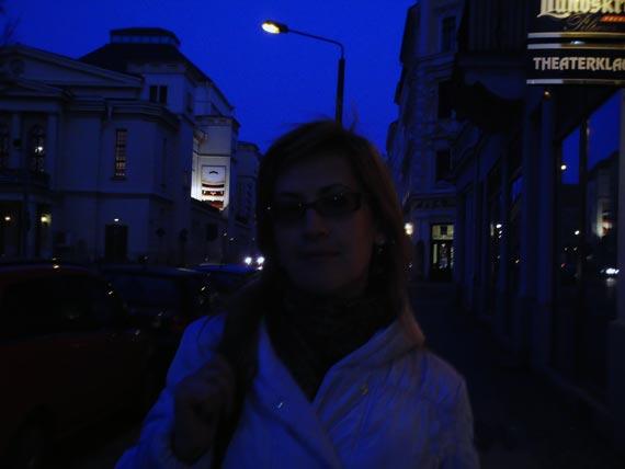 Сиреневый вечер в Горлице на границе Германии с Польшей. Бродить по узким улочкам старых городков Европы – привилегия настоящих путешественников.
