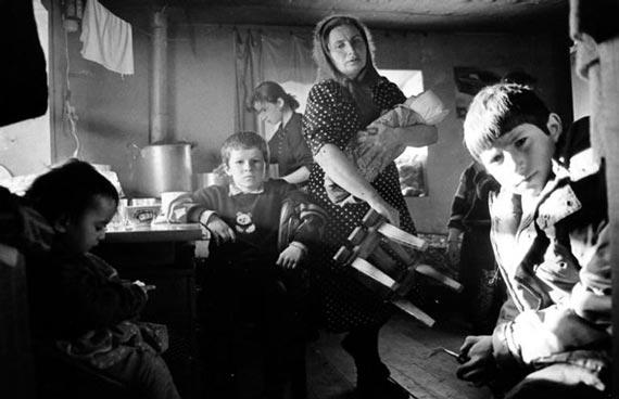 Российские матери с детьми в Чечне